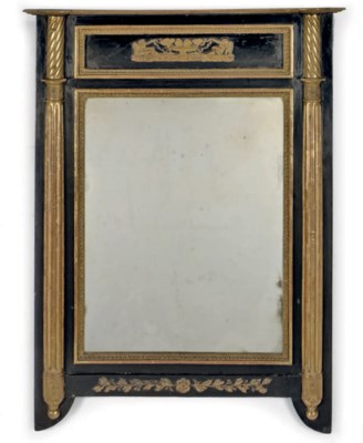 A NORTH EUROPEAN EBONISED AND