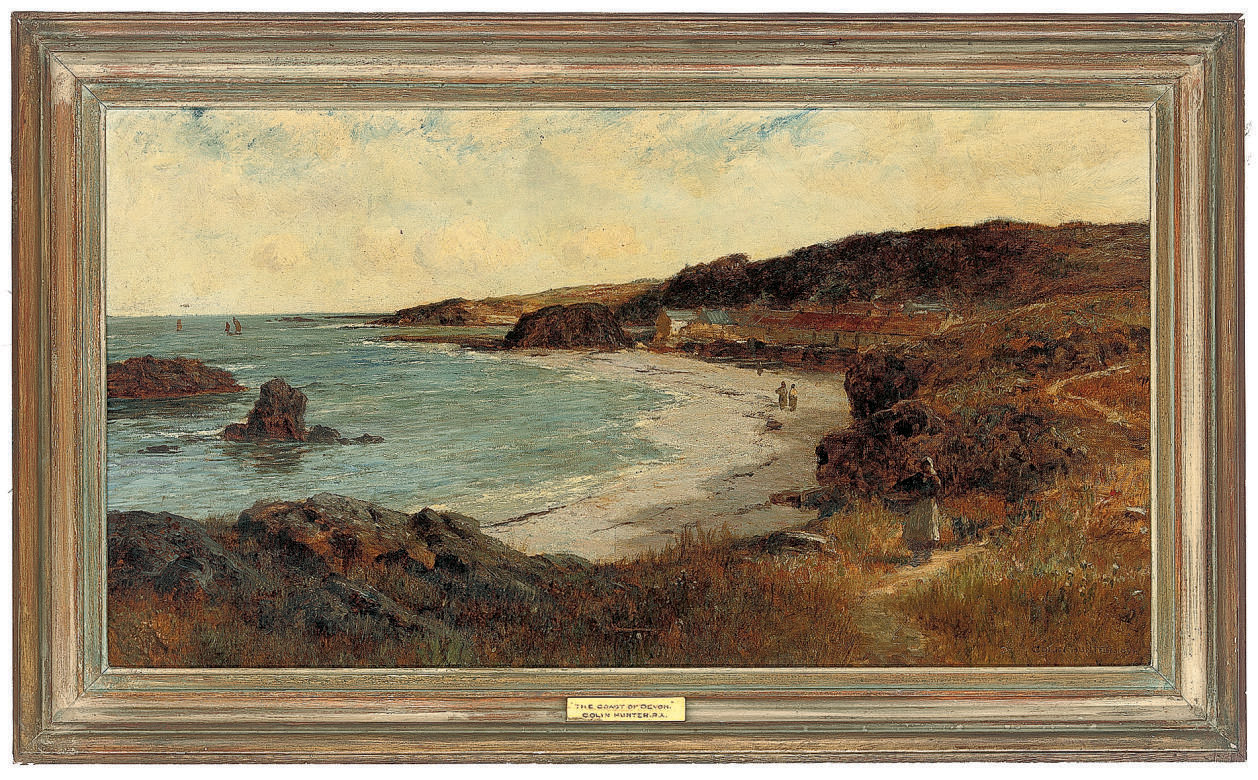 The coast off Devon