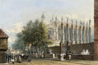 View of Eton College Chapel, Windsor
