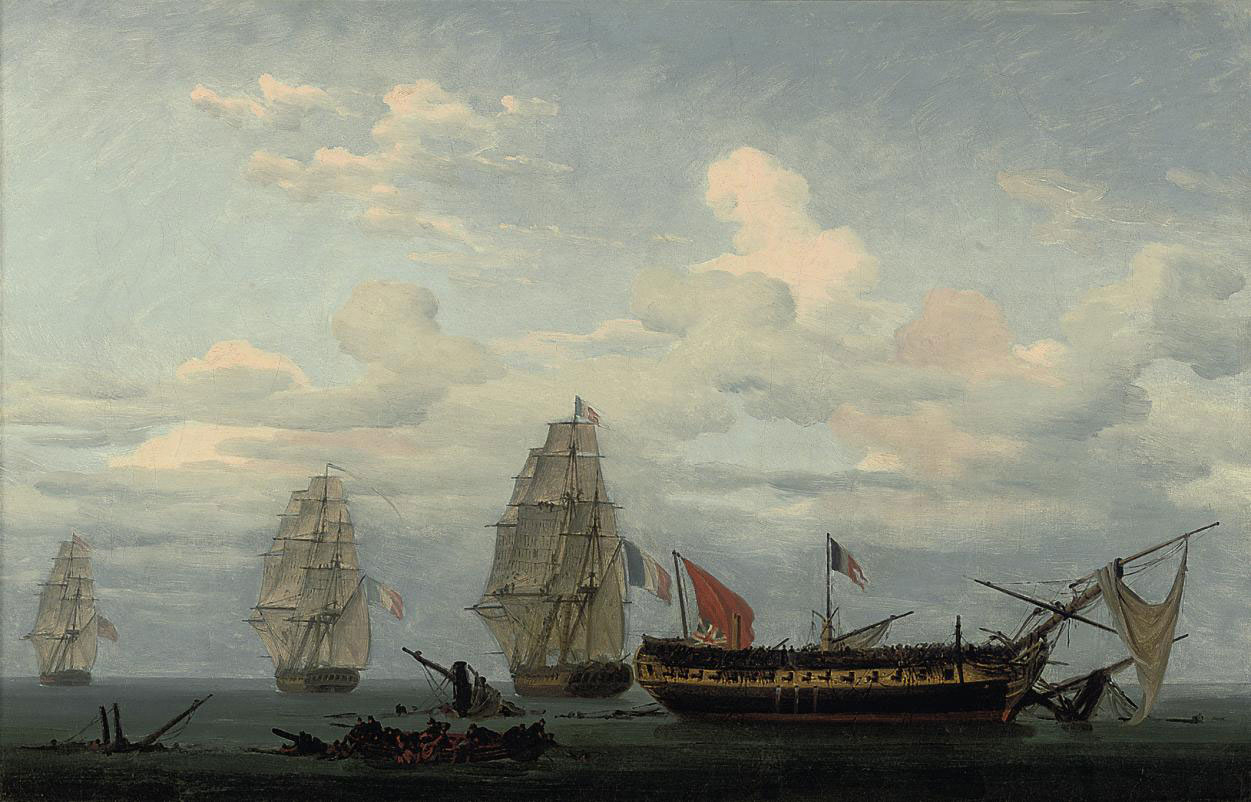 The vanquished frigate: A rare English defeat in the Napoleonic Wars