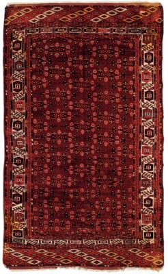 A Yomut carpet