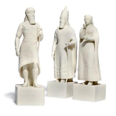 THREE COPELAND PARIAN ASSYRIAN