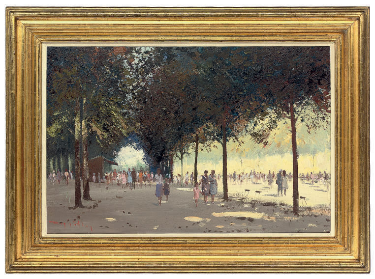 Bank holiday, Tuilleries