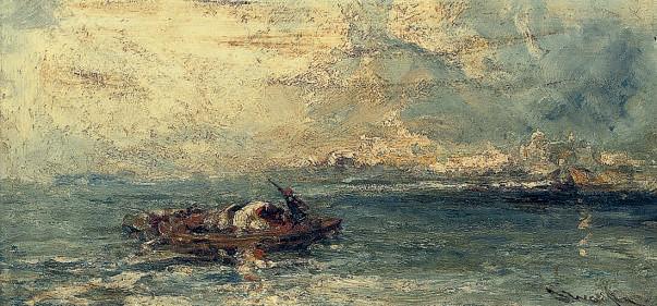 A fishing boat, Venice