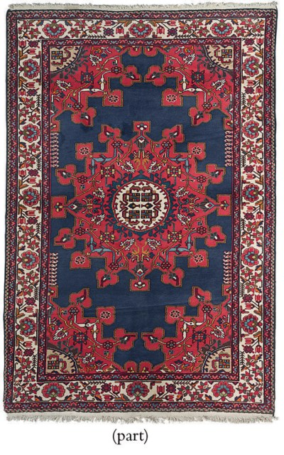 A two West Persian rugs