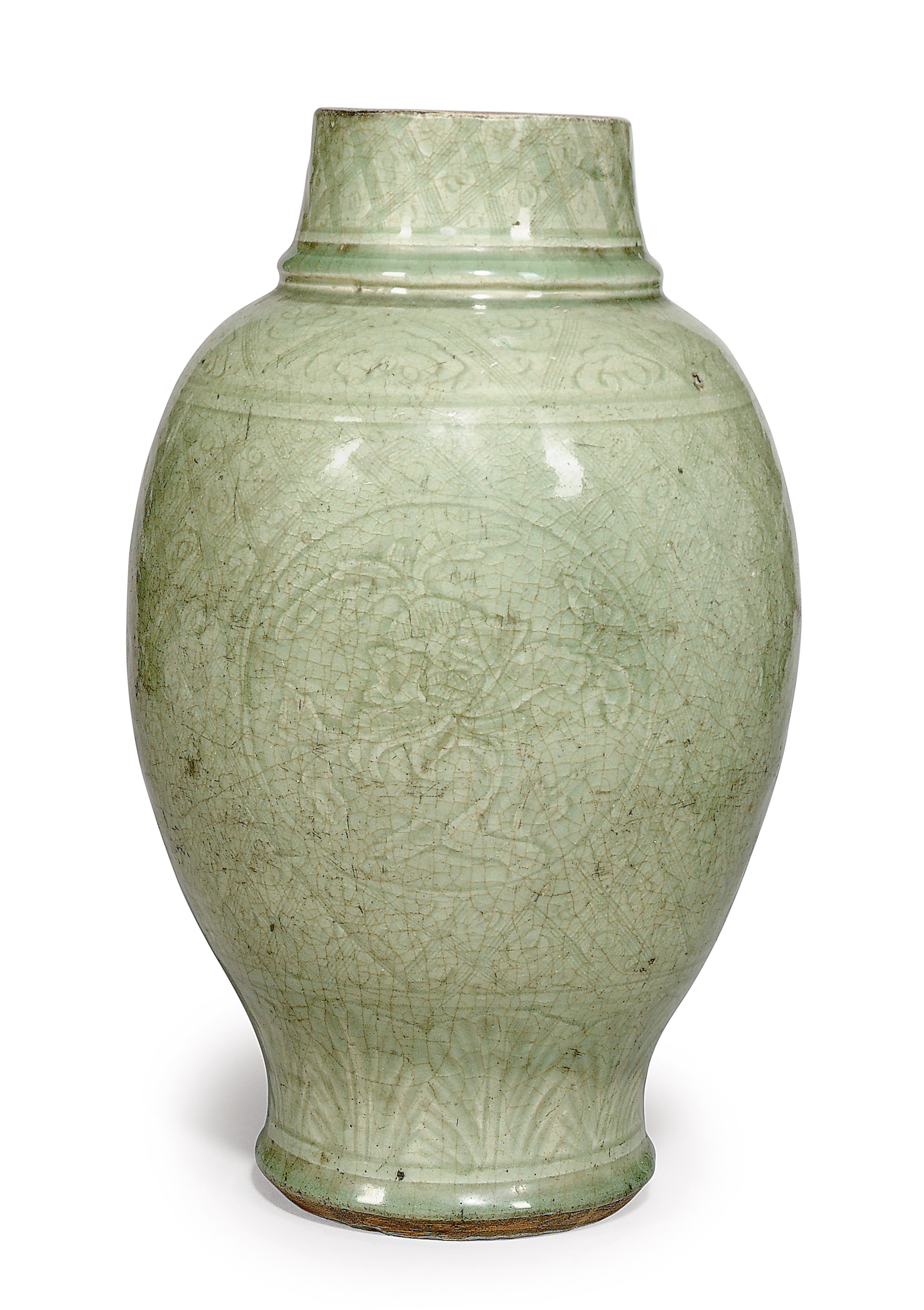 A Chinese Celadon Vase Ming Dynasty 1368 1644 Christie S