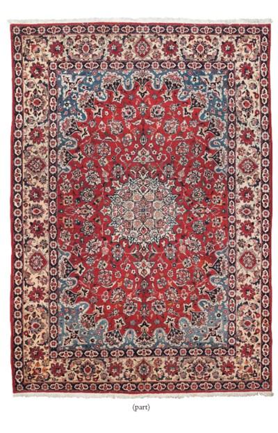 A Bakhtiari carpet & Chinese r