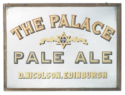 A PALACE PALE ALE ADVERTISING