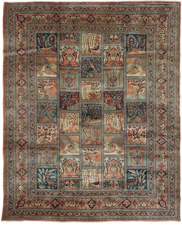A North-East persian carpet of Garden design