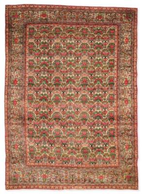 A Kirman Laver carpet