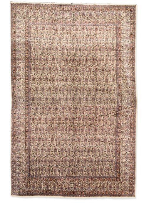 A very fine Kirman carpet