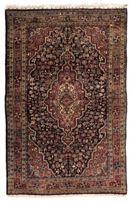 A lot of two Sarouk rugs
