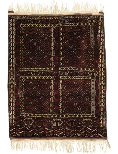 A Yomut Hatchly rug