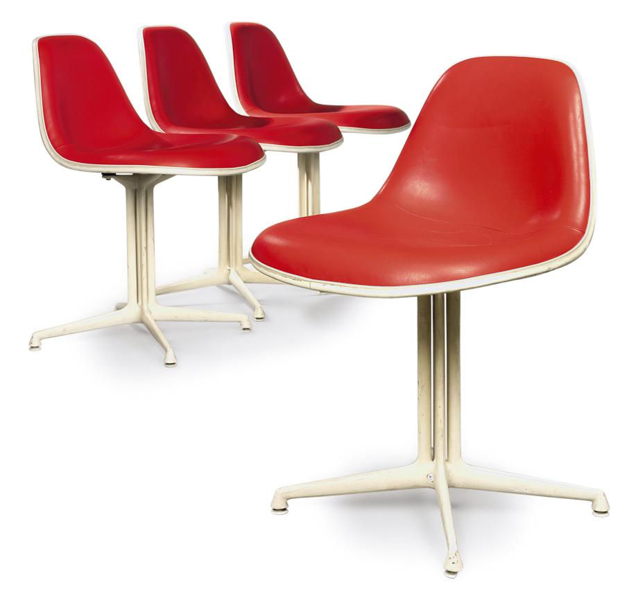 A CHARLES & RAY EAMES SET OF F