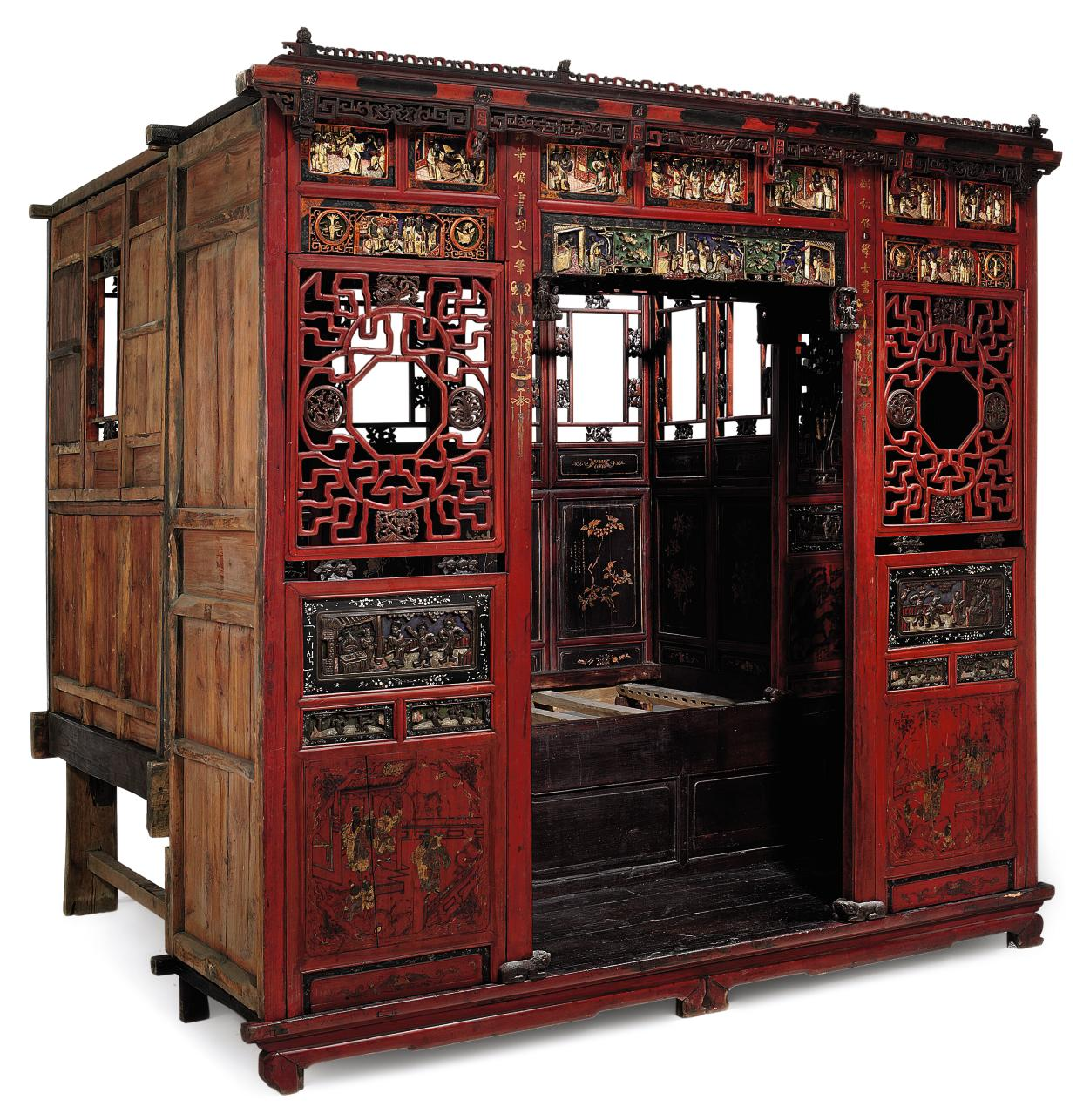 A CHINESE OPIUM BED