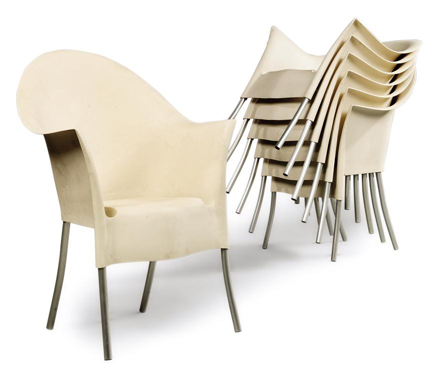 A PHILIPPE STARCK SET OF SEVEN