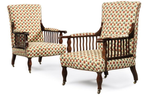 A MORRIS & CO. PAIR OF ARTS &