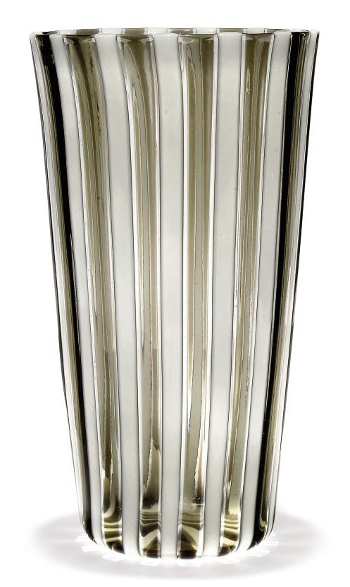 A Venini Glass Vase 1960s 1950s All Other Categories Of Objects