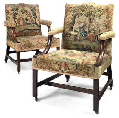 A MATCHED PAIR OF GEORGE III M