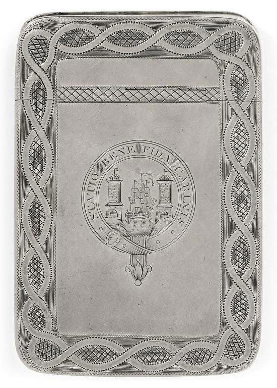 A GEORGE III IRISH PROVINCIAL SILVER FREEDOM BOX