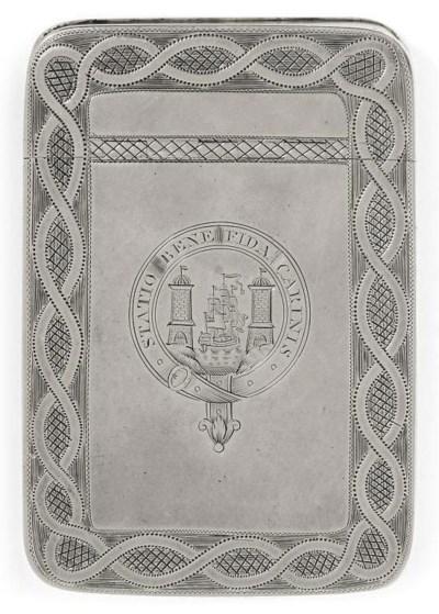 A GEORGE III IRISH PROVINCIAL