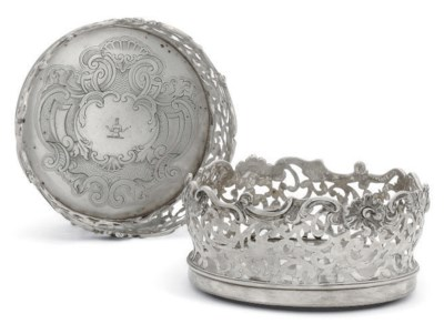 A PAIR OF WILLIAM IV SILVER WI