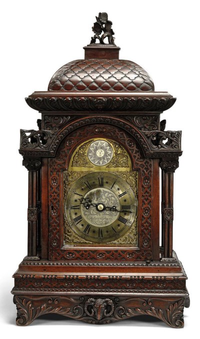 A VICTORIAN CARVED MAHOGANY ST