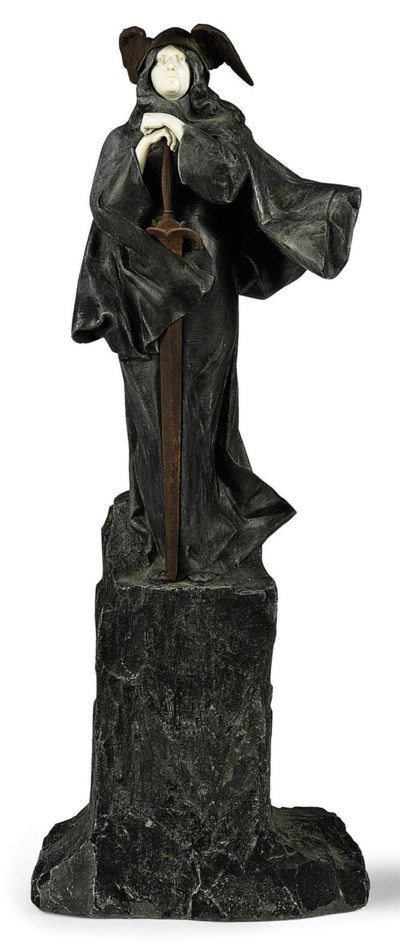 'ANGEL'S SWORD' A CARVED STONE
