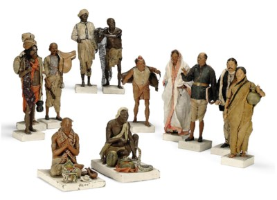 A GROUP OF TWELVE INDIAN BENGA
