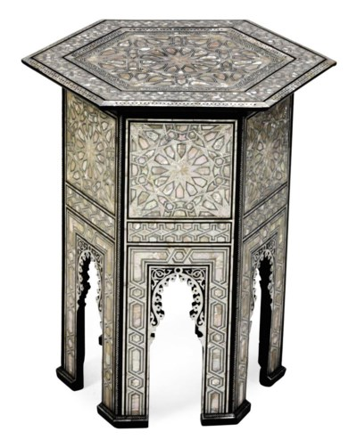 A SYRIAN MOTHER-OF-PEARL INLAI