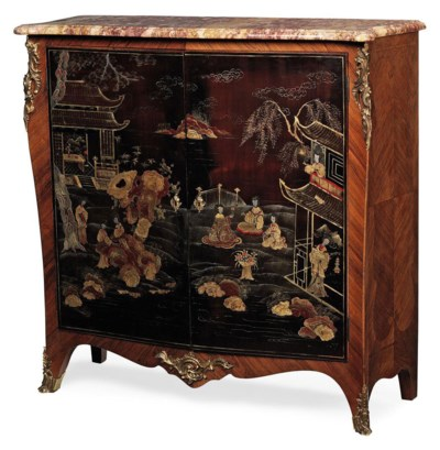 A FRENCH KINGWOOD AND CHINOISE