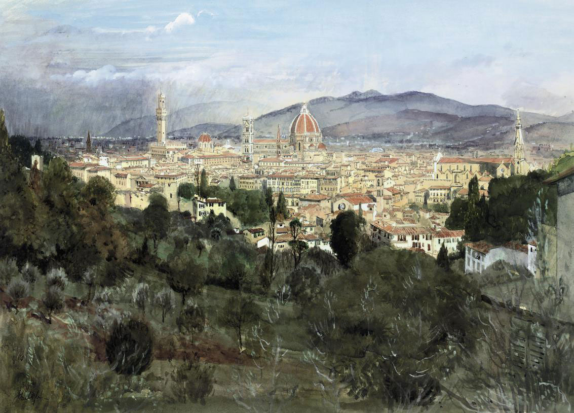View of Florence from San Miniato