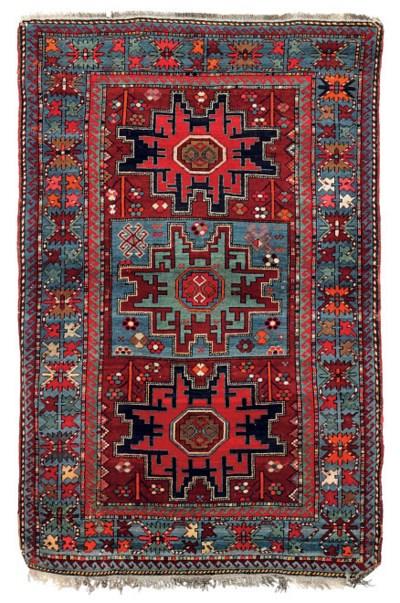 A Lesghi rug & Gabbeh rug