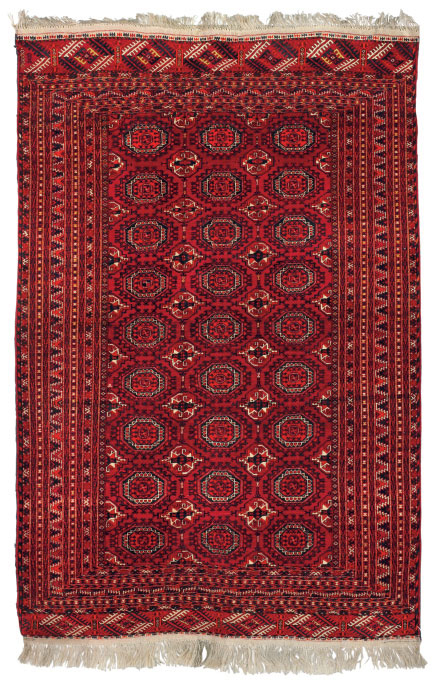 A lot of two Bokhara rugs