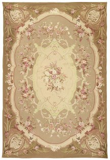 A fine needlepoint carpet of A