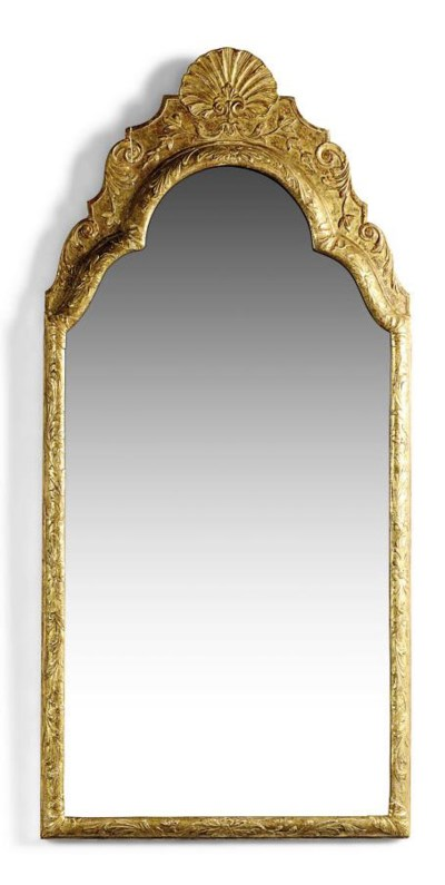 A GILTWOOD AND COMPOSITION MIR
