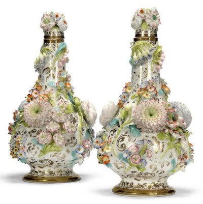A PAIR OF COALBROOKDALE-TYPE B