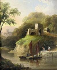 Landkey Lime Kilne, North Devon; and Cottage scene near Exeter