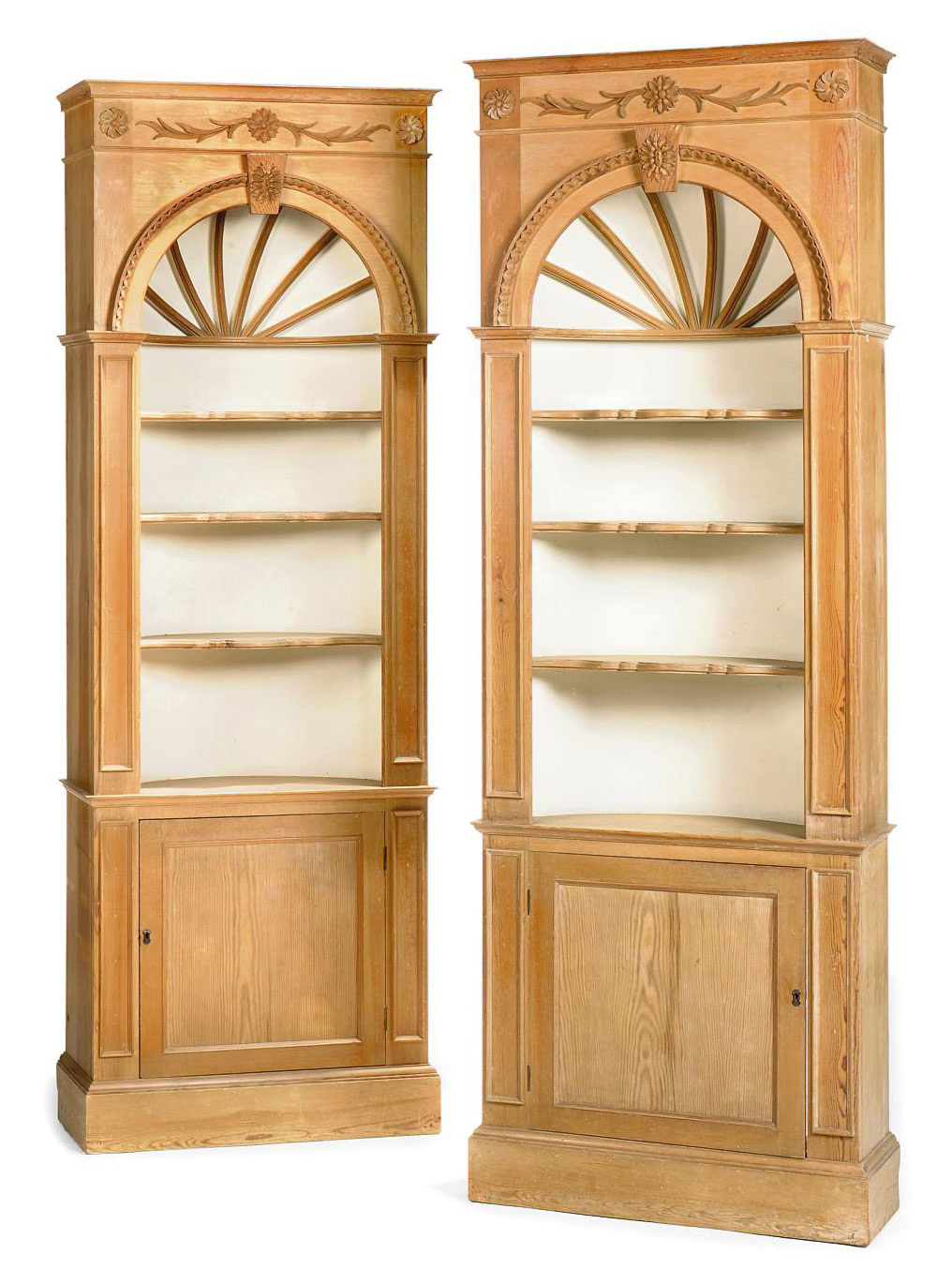 Lot 36  sc 1 st  Christieu0027s & A PAIR OF PINE DISPLAY CABINETS   LATE 20TH CENTURY   display ...
