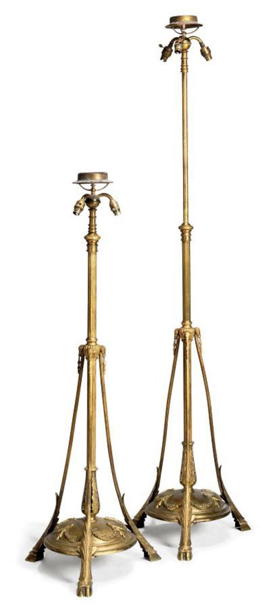 A PAIR OF LATE VICTORIAN LACQU