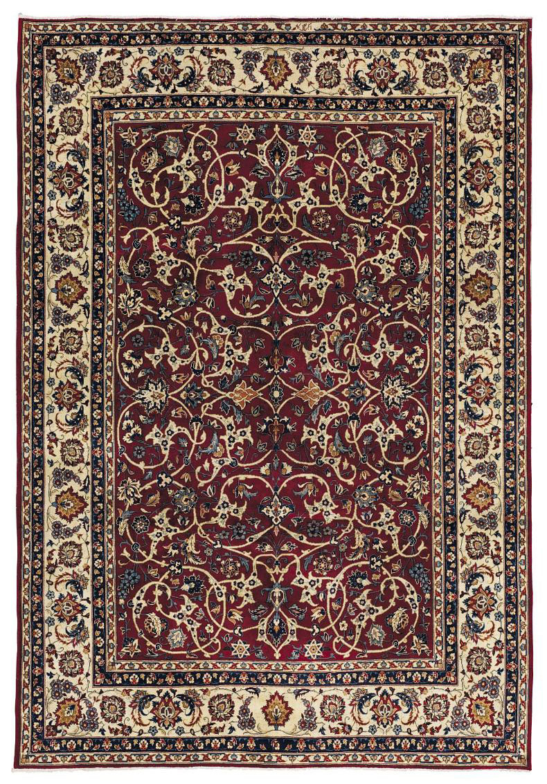 A PAIR OF MESHED CARPETS, NORT