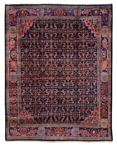 AN UNUSUAL WEST PERSIAN CARPET