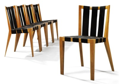 SIX JEAN ROYÈRE CHAIRS