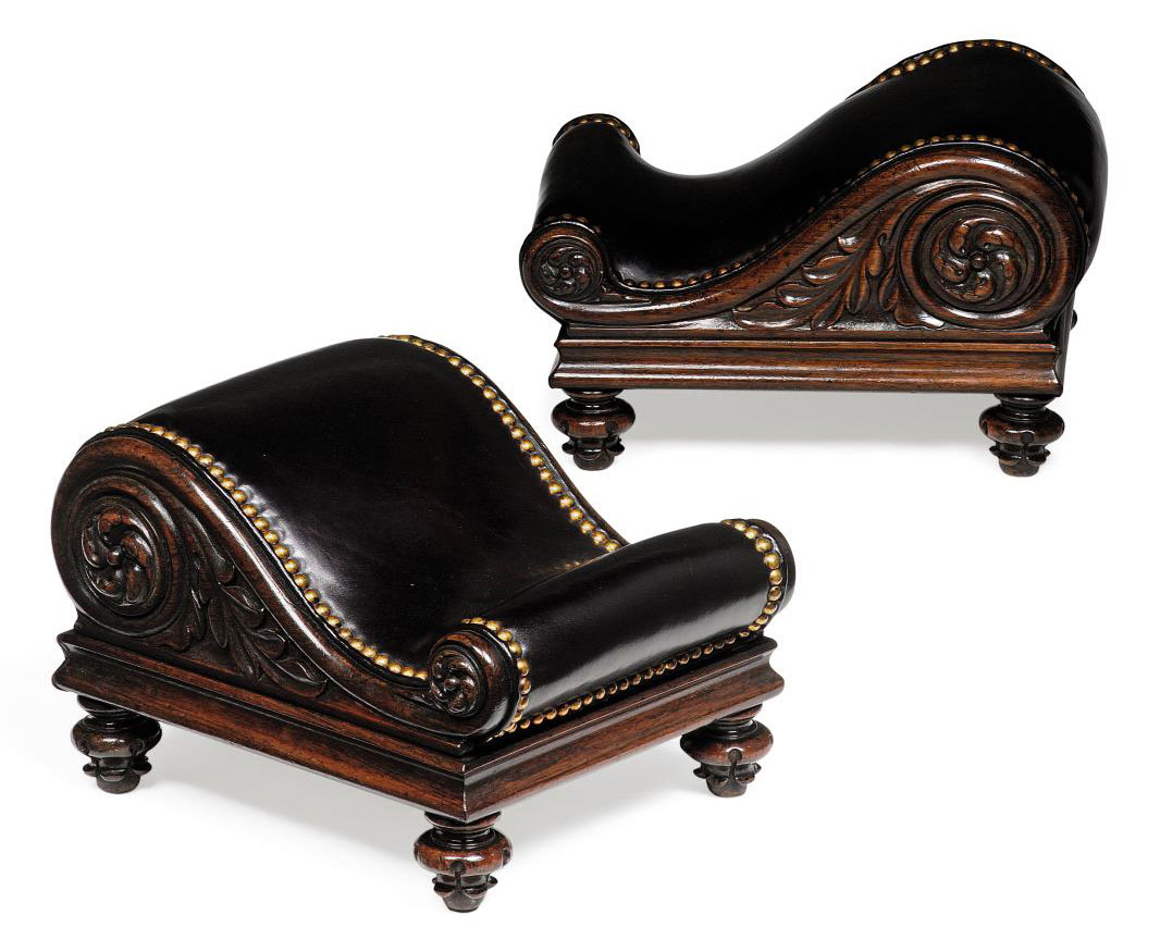 A PAIR OF MID VICTORIAN ROSEWO