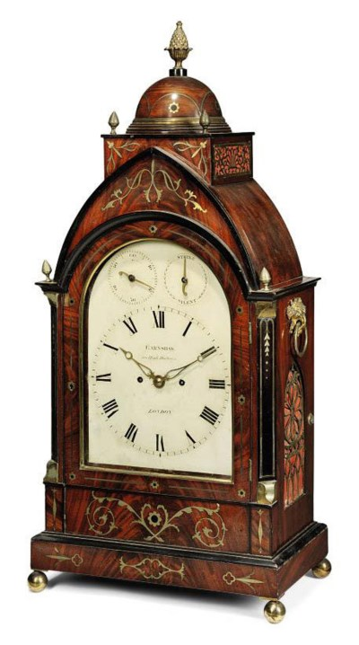A LARGE GEORGE IV MAHOGANY AND