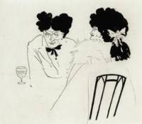An illustration for Charles Lamb's and Douglas Jerrold's Bon Mots, 1893