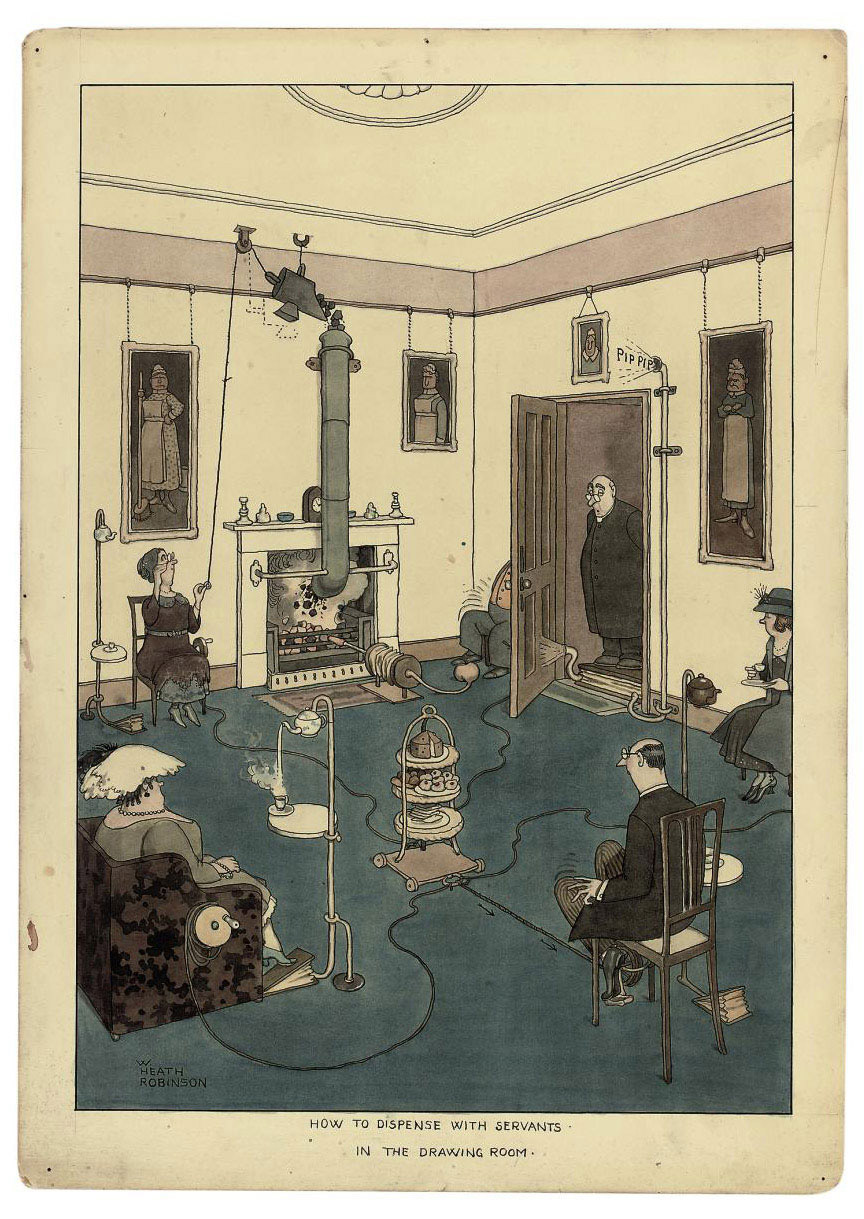 'How to dispense with servants in the Drawing Room'