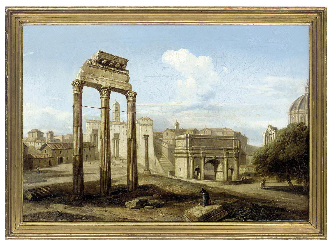 A capriccio of classical ruins
