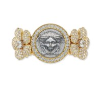 A DIAMOND CUFF, BY VERSACE