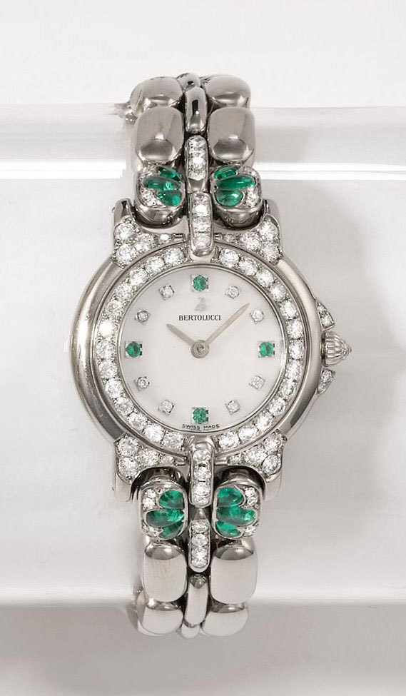 BERTOLUCCI  LADY'S WHITE GOLD,